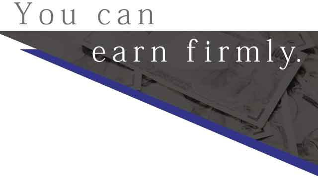 You can earn firmly
